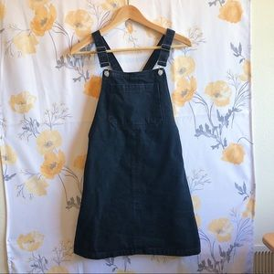 Topshop moto overall dress